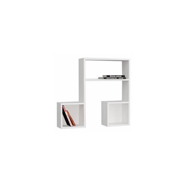Półka wisząca Lasido, biała