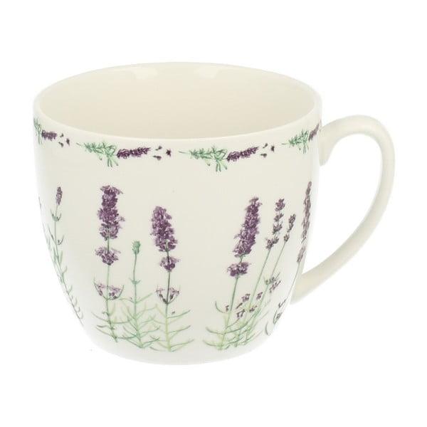 Kubek porcelanowy Duo Gift Lavender, 700 ml