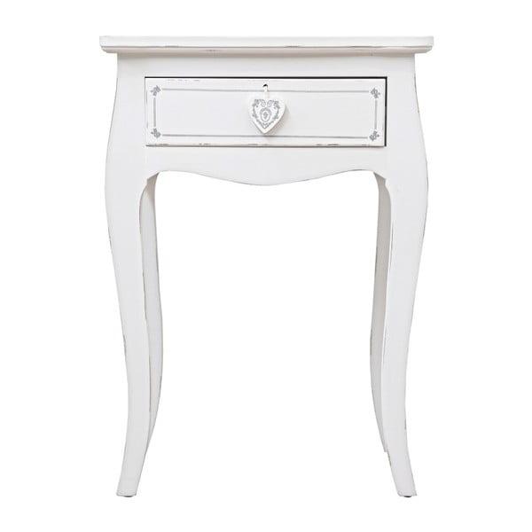 Stolik z szufladą Bizzotto LiKomplette, wysokość 69 cm