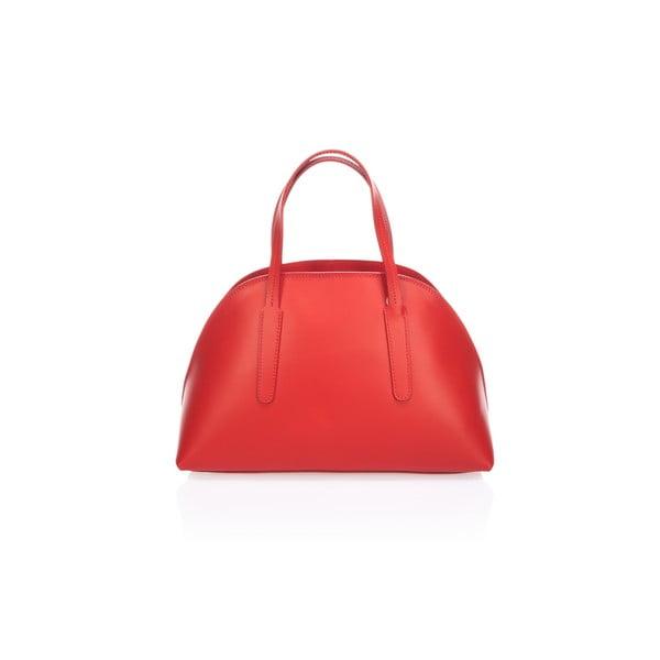 Skórzana torebka Cast, czerwona