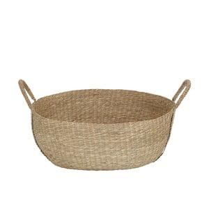 Koszyk z trawy morskiej A Simple Mess, ⌀46cm