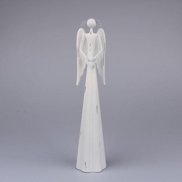 Biały anioł z sercem Dakls
