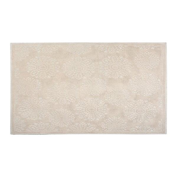 Dywan bawełniany Ganda 80x150 cm, kremowy