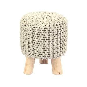 Kremowy stołek HF Living Nature mini