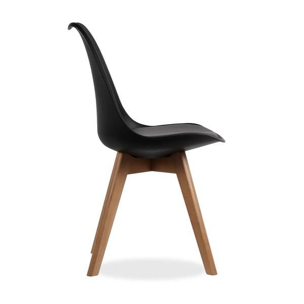 Krzesło Beech Tulipa Noir