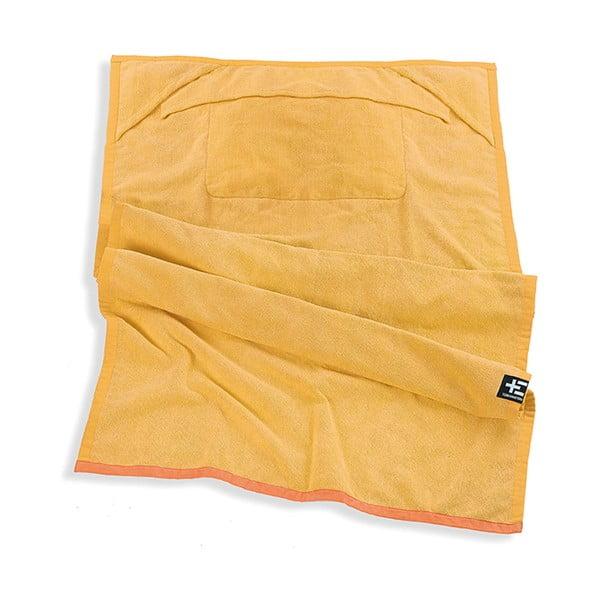 Ręcznik plażowy One Moe Yellow, 90x180 cm