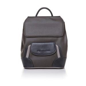 Skórzany plecak Marta Ponti Aipee, brązowy/beżowy
