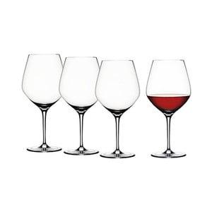 Komplet 4 kieliszków do czerwonego wina Burgundy