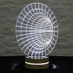 Lampa 3D stołowa Hole