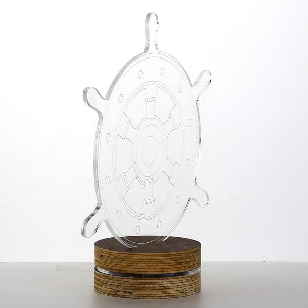 Lampa 3D stołowa Rudder
