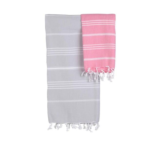 Wielofunkcyjny ręcznik Talihto Mini Pink Grapefruit