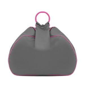 Worek do siedzenia Vivonia Outdoor Dark Grey/Acid Pink