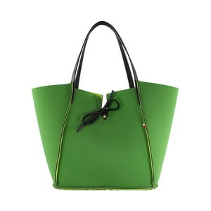 Neoprenowa torebka Fiertes, zielona