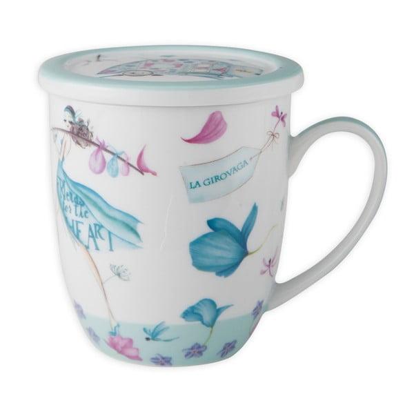 Porcelanowy kubek Aquamarine Tea