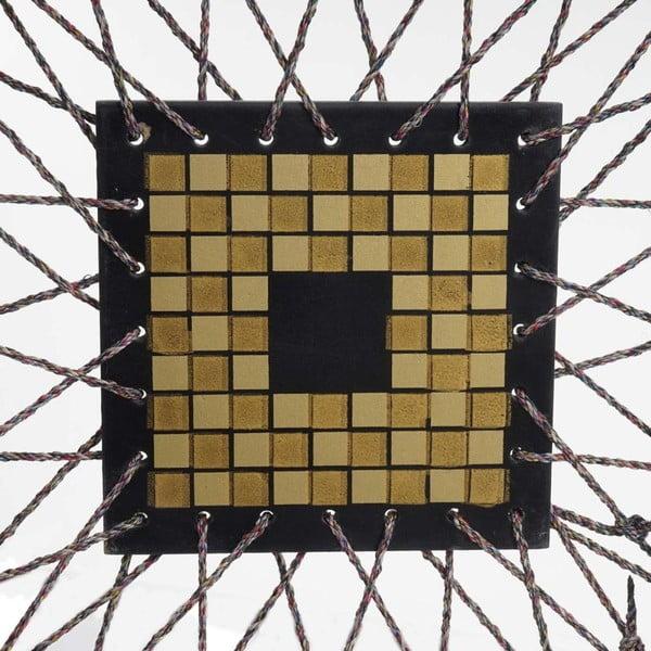 Parawan Room Ornament Black, 161x170 cm