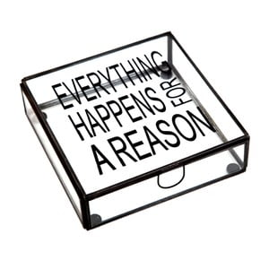 Pudełko Cristal Everything Happens