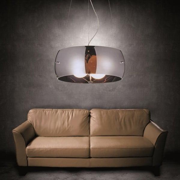 Lampa sufitowa Faro, chromowano