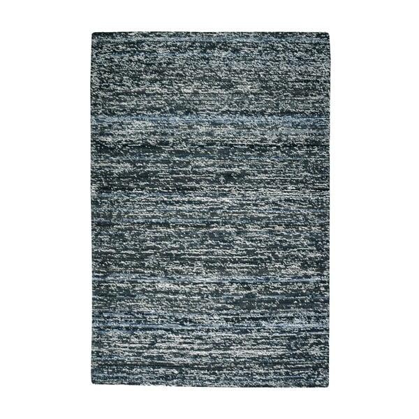 Wełniany dywan Deniza Charcoal, 120x180 cm