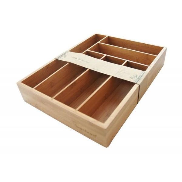 Bambusowy wkład do szuflady na sztućce Bambum