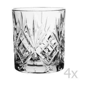 Zestaw 4 szklanek do whisky Melodia, 310 cl