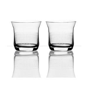 Zestaw 2 szklanek do whiskey - Oleg Chorchoj, 250 ml