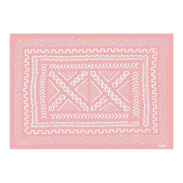 Winylowy dywan Tribal Rosa, 120x170 cm