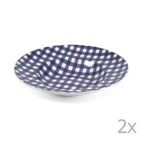 Zestaw 2 talerzy na makaron Livia 30,5 cm, niebieski