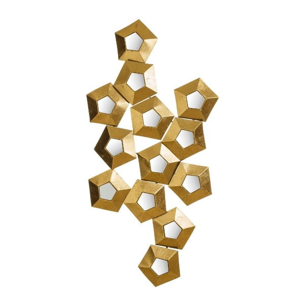 Dekoracja Golden Hex, 114x59 cm