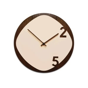 Zegar Clock25 Dark Wood