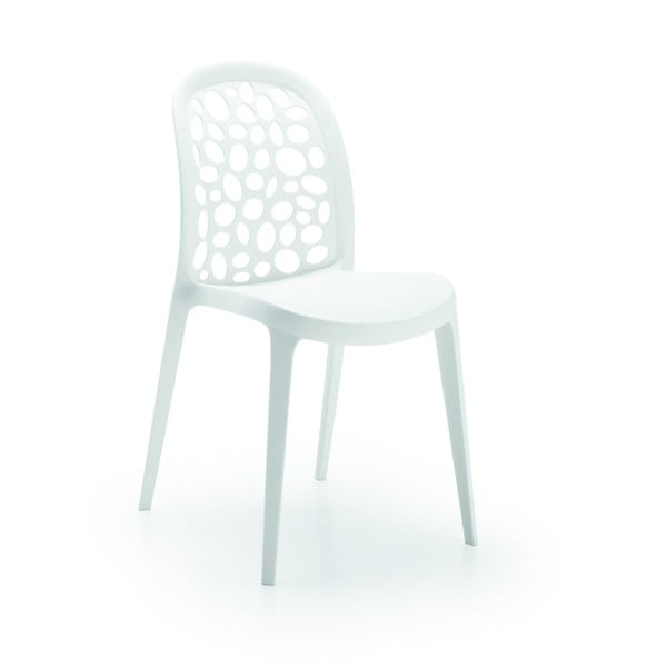 Krzesło Messina, białe