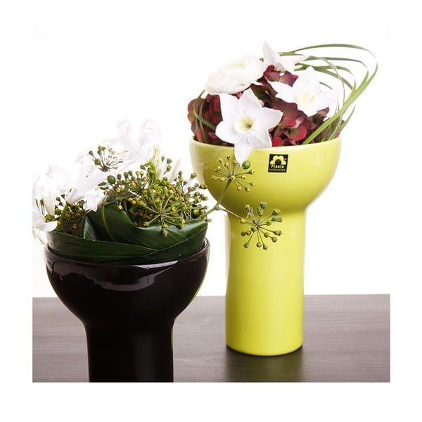 Wazon Odet 25 cm, zielony