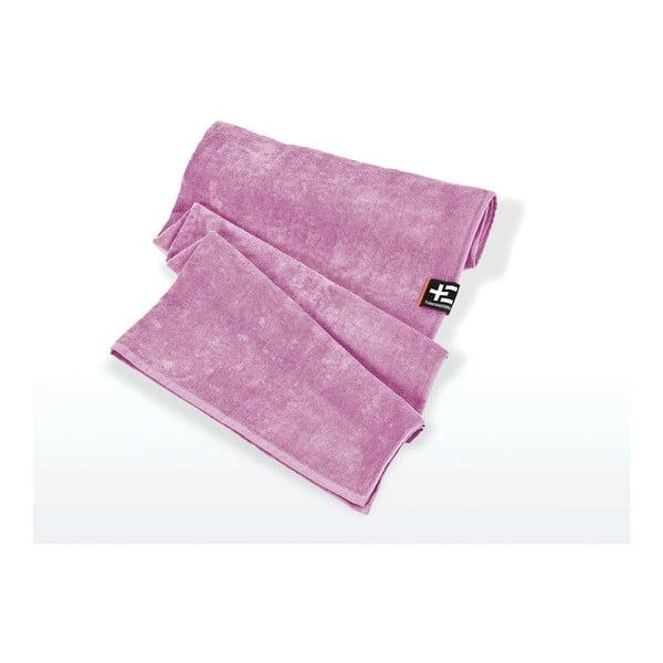 Ręcznik plażowy Kami Moe 80x160 cm, fioletowy