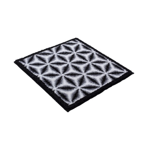 Dywanik łazienkowy Kolor My World XIV 60x60 cm, szary