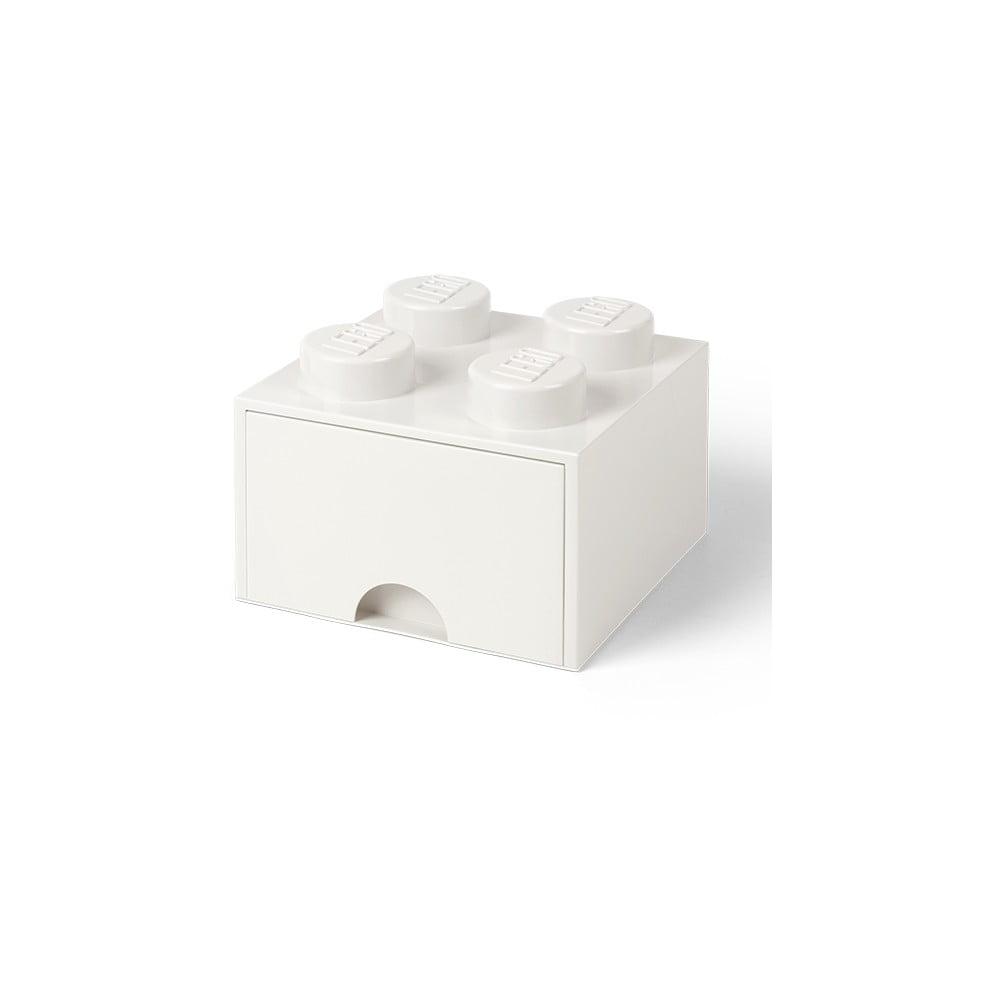 Biały pojemnik kwadratowy LEGO®
