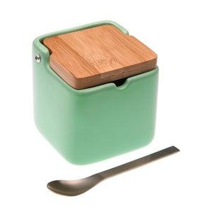 Pojemnik na cukier z łyżeczką Versa Green