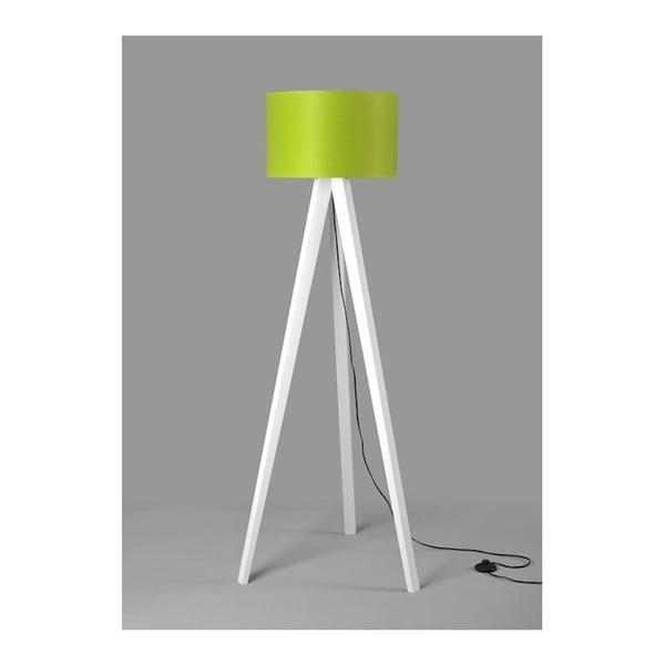 Lampa stojąca Tripod Lime/White