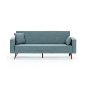 Niebieska sofa rozkładana Balcab Home Ivonne
