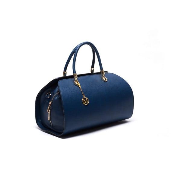 Skórzana torebka Mangotti 415 Blu