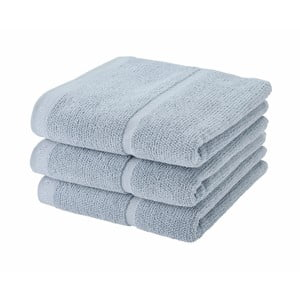 Szaroniebieski ręcznik Aquanova Adagio, 55x100cm