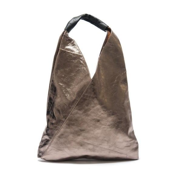 Metaliczna torebka skórzana Isabella Rhea Tribulus