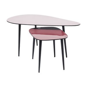 Zestaw 2 stolików Kare Design La Costa