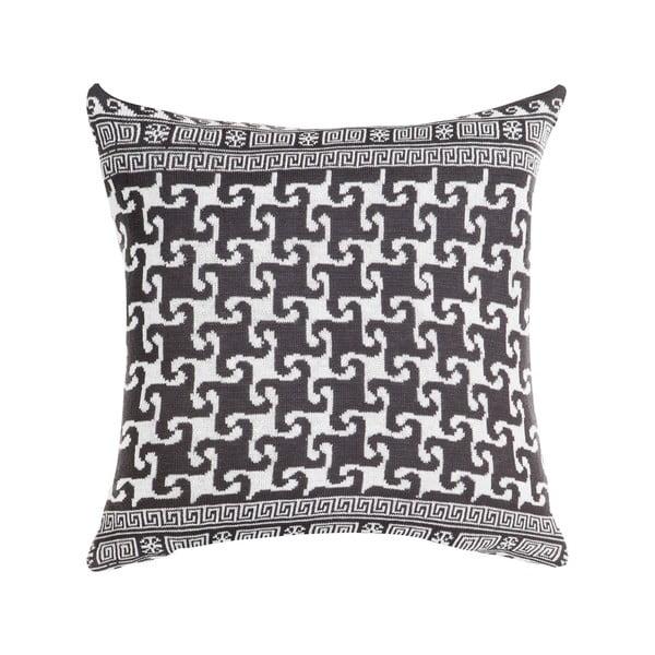 Poduszka z wypełnieniem Grey and White 10, 43x43 cm