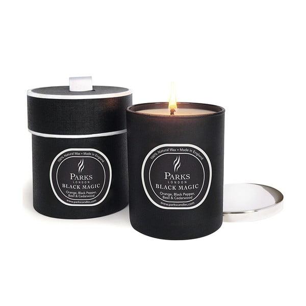 Świeczka Magic Candles, zapach pomarańczy, czarnego pieprzu i cedru