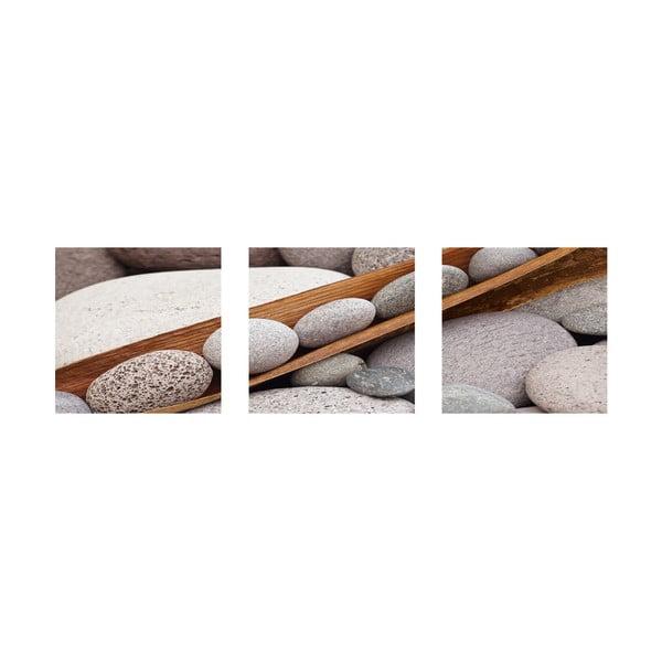 Samoprzylepne obrazy Boat Of Stones, 30x30 cm