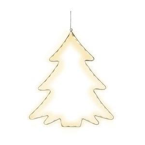 Wisząca dekoracja świecąca LED Best Season Lumiwall Tree