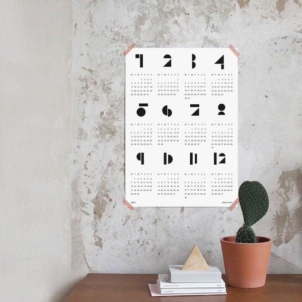 Kalendarz ścienny SNUG.Toy 2016, biały