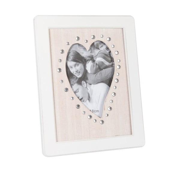 Ramka na   zdjęcia z sercem Rhine, 20x25.5 cm