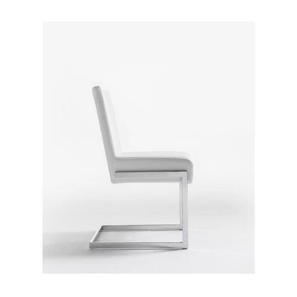 Białe krzesło Ángel Cerdá Leonor