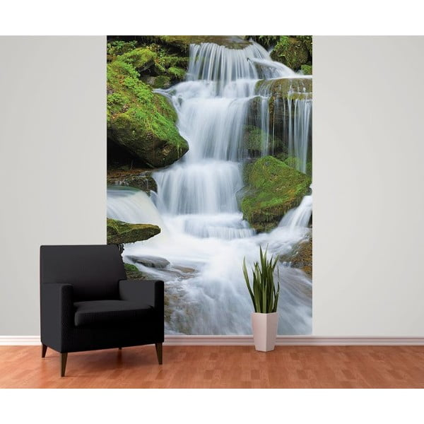 Tapeta Waterfall Deco, 158x232 cm