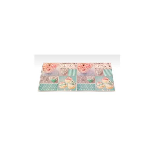Wytrzymały dywan kuchenny Webtapetti Bluerose, 60x115 cm